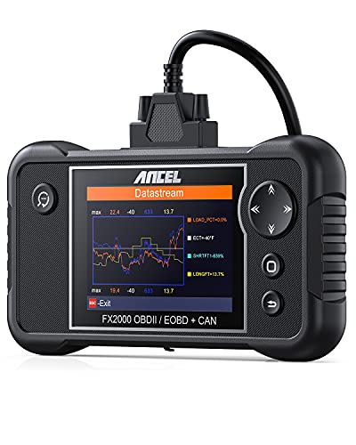 ANCEL FX2000 Car Code Reader Automotive Transmission SRS ABS Check Engine Scan Tool with Live Data Diagnostic OBDII Scanner