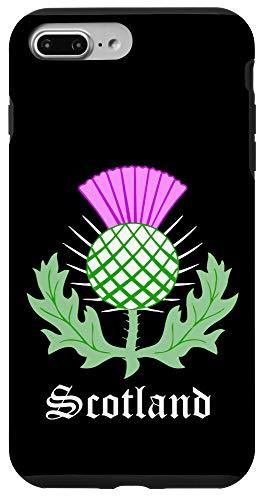 iPhone 7 Plus/8 Plus Scottish Thistle Flower Celtic Symbol Scotland Gifts Case