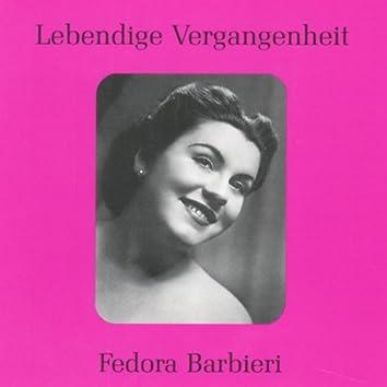 Lebendige Vergangenheit - Fedora Barbieri