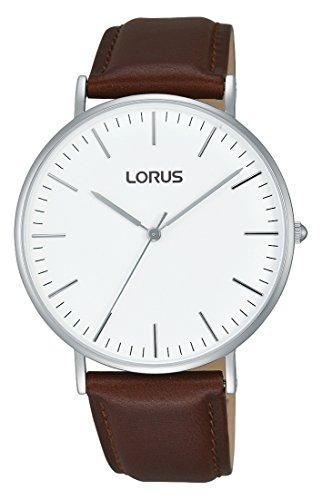 Lorus Watches Damen Analog Quarz Uhr mit Leder Armband RH881BX9