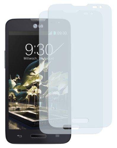 mumbi Schutzfolie kompatibel mit LG L90 Folie klar, Bildschirmschutzfolie (2X)