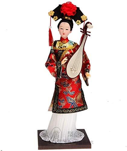 WEHOLY Statua Scultura Decorazione Sculture Decorazioni per la casa T Figurine Forchetta Cinese Antica Arte Figurine Fatte a Mano per Accessori per la casa Artigianato Antico Chinse Principessa Min