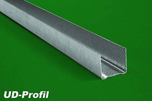 30 Meter | UD Profil | Trockenbau | Decken Wandausbau | 30x27mm | Hexim | UD 27