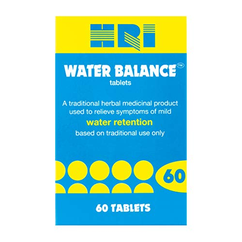 HRI Water Balance. Dandelion Root, Uva Ursi Leaf and Buchu Leaf Tablets. to Reduce Bloating and Relieve The Symptoms of Mild Water Retention. 60 Tablets
