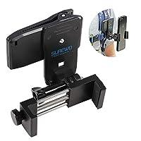 バックパックストラップクリップマウント 電話クリップとSアダプター付き iPhone XR XS Max X 8 7 Plus サムスン Huawei 65-82 mm電話に対応