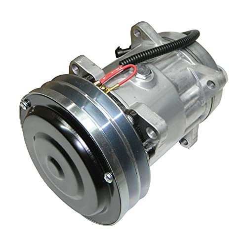 Hachiparts Compresor de Aire Acondicionado A/C SD7H15 SD7H15SHD 47050714 1977958C1 1999755C3 Compatible con Case Equipo de Producción de Cosecha 3210 Herramientas Flx3300b Flx4300 Flx4375