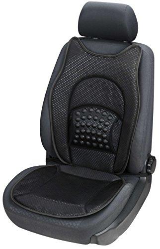 Car Comfort 13991 Auto New Space schwarz, Universale Sitzauflage mit Massagenoppen