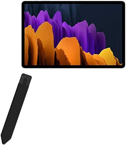 BoxWave Smart Gadget voor Samsung Galaxy Tab S7 Stylus PortaSleeve Stylus Houder Draagtas Draagbaar Zelfklevend voor Samsung Galaxy Tab S7Jet Black