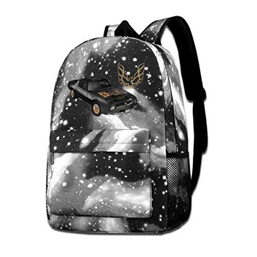 Pontiac Trans Am Firebird Galaxy Schoolbags Backpack