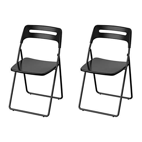 Silla De Plástico Plegable, 2 Muebles, Silla Plegable De Plástico Blanco, Silla Plegable De Dos Piezas para Bodas Al Aire Libre (Color : B)