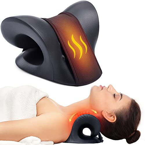 Neck Stretcher for Neck Pain Relief, Heated...