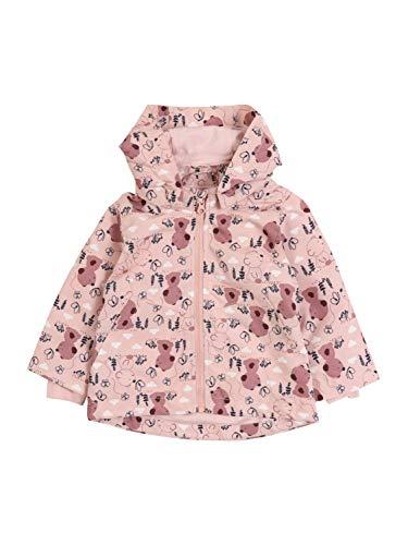 NAME IT Baby-Mädchen NBFMAXI Jacket Teddybear Jacke, Lotus, 56