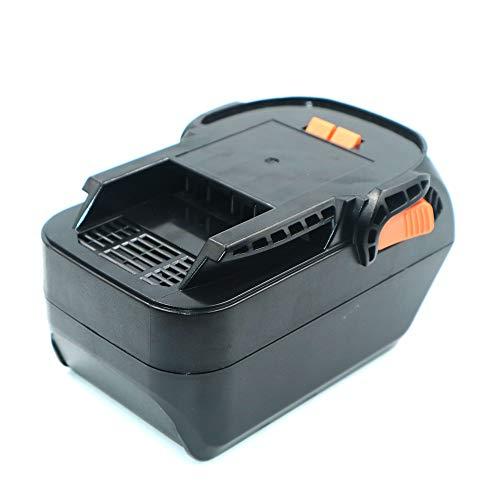 Heshunchang batería Repuesto 18v 6Ah para Ridgid L1815R B1820R L1830R B1830R B1820