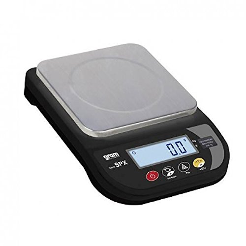 Gram 0004454 precisieweegschaal standaard, volledig van kunststof (ABS), capaciteit 600 g, resolutie 0, 01 g