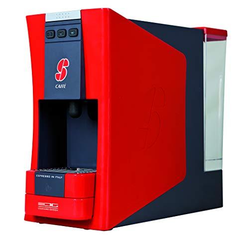 Essse Caffè S:12 Macchina da caffè, 1100 W, 1 Cups, Plastica, Rossa