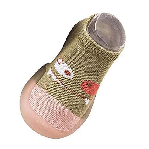 Atmungsaktive Krabbelschuhe Jungen Mädchen Mesh Lauflernschuhe Atmungsaktive Socken Schuhe Rutschfest Kleinkind Schuhe Weicher Boden Babyschuhe Indoor Bodensocken