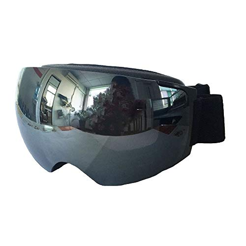 Yi-xir diseño Clasico Múltiples Hoja de Lentes similares antifogging imán de Campo Grande Gafas de esquí globosa Moda (Color : 4, Size : 22.6 * 10cm)