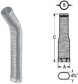 M G Duravent 6DLR-36ORF DuraLiner 6 Inch x 36 Inch Oval-Round Flex Reline Pipe