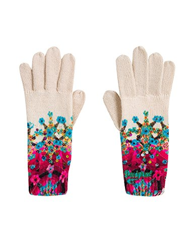 Desigual Damen GUANTES_ ELEY Handschuhe, Mehrfarbig (Tiza 1010), One size/U (Herstellergröße: U)