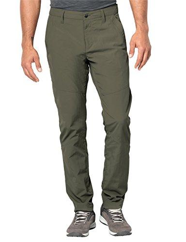 Jack Wolfskin Herren Desert Valley Travel Pants mit UV-Schutz, Herren, Woodland Green, 29 (US 40/32)