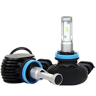GSlife LED Headlight Bulbs 25W 4000 Lumen xenon light 6000K (pack of 2)
