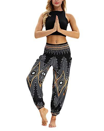 Mujeres Ocasionales Pantalones Flojos del Mono De Trousers Baggy Boho Aladdin Harem Pants Hippie Pantalon Yoga 020