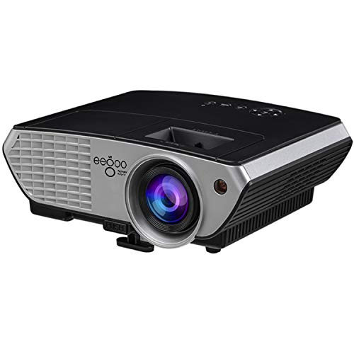 EGO TECHNOLOGY Proyector Profesional LED Portatil Full HD 3300 Lumens Mejorado