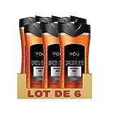Axe You Gel Ducha energised 250ml–PACK DE 6