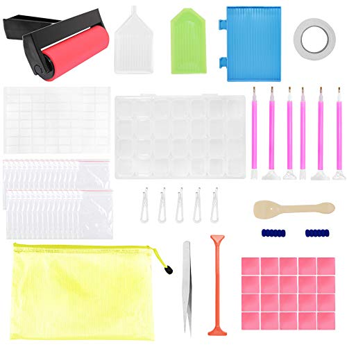 SENHAI 75 piezas de herramientas de pintura de diamantes 5D, kits de...