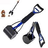 othulp Bolsas Caca Perro Recogedor Excrementos Perro Rollos de Bolsas de Caca de Perro Automático Pooper Scooper Blue