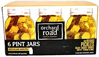Orchard Road 505 16 Oz Orchard Road Regular Mouth Mason Jars 6 Count