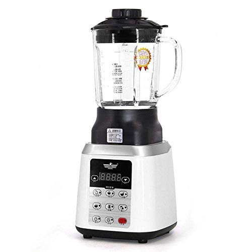 Eten Jug Blender Fruit Juicer Mixer Timer-Blnders Ice-Crusher Food-processor met PC/Glass Jar Wit-glazen kan ZHW345 (Color : White, Size : With PC jug)