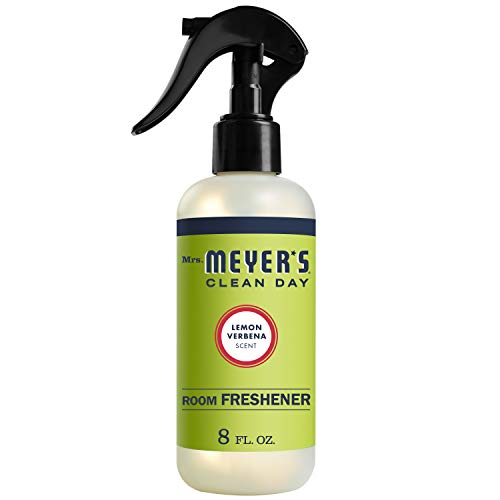 Mrs. Meyer's Clean Day Room Freshener Spray, Instantly Freshens the Air with Lemon Verbena Scent, 8 oz