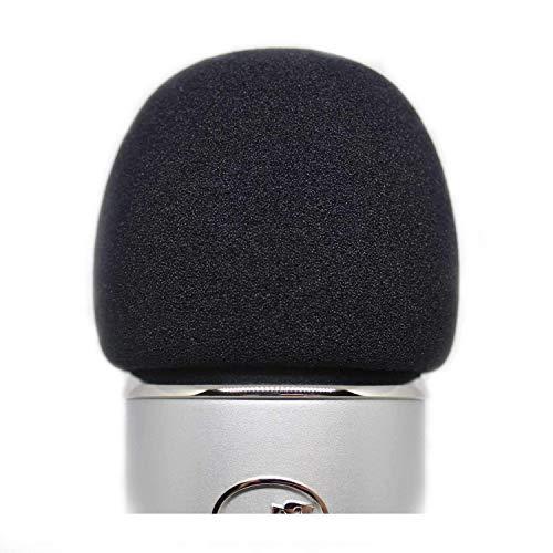 KOSTOO Mic Cover Foam Microphone Voorruit voor Blue Yeti, Yeti Pro en andere grote microfoons, Kwaliteit Sponge Materiaal om te fungeren als een Pop Filter voor uw Mic
