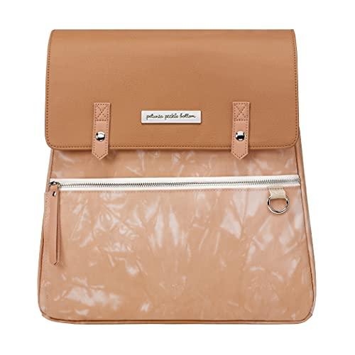 Bolso para carrito Meta Backpack de Petunia Pickle Bottom. Con cambiador extraíble y lavable a máquina Color Dusted Desert Tie-Dye