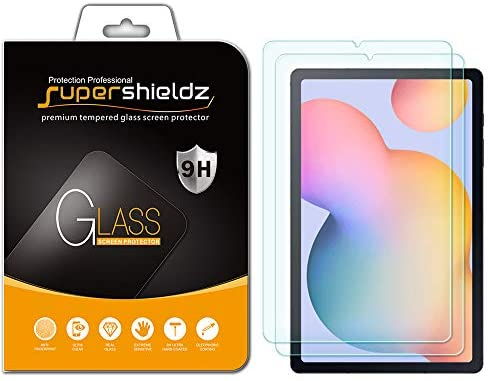 2 Pack Supershieldz for Samsung Galaxy Tab S6 Lite 10 4 inch Screen Protector Tempered Glass product image