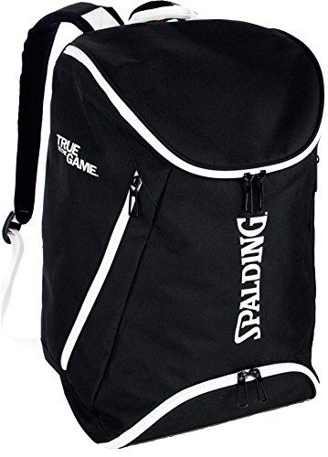 Spalding Rucksack mit Bodenfach schwarz + Trinkflasche