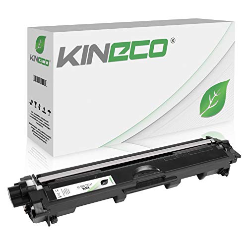 Kineco Toner kompatibel für Brother TN-241 TN241 für Brother MFC-9142CDN, Brother DCP-9022CDW, MFC-9342CDW, MFC-9332CDW, HL-3150CDW, HL-3170CDW - TN-241BK - Schwarz 2.500 Seiten