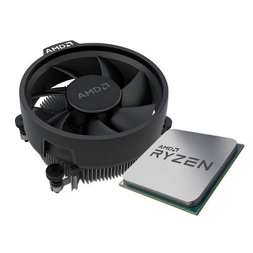 AMD Ryzen 3 3300x 4-Core, 8-Thread Unlocked Desktop Processor(Tray) with Wraith Stealth Cooler