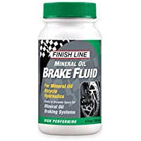 Finish Line High Performance Mineral Oil Brake Fluid 4 Oz