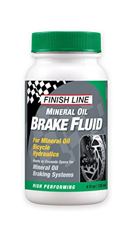 4-Oz Finish Line High Performance Mineral Oil Brake Fluid $5