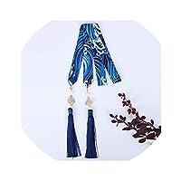 繁体字中国語Hanfu髪ヘアバンドアクセサリー刺繍タッセルリボン髪リボンスタイル頭飾り帽子、FD3-7L
