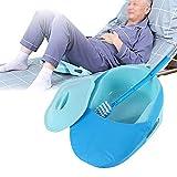 Bettpfanne, Dicke stabile PP-Bettpfanne, Krankenhausbettpfanne-Urinflasche, für Frauen, Männer,...