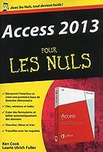 Access 2013 Poche pour les Nuls de Laurie ULRICH FULLER