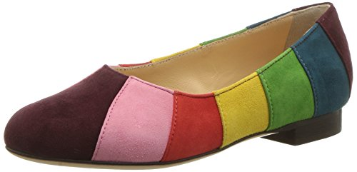 charlotte olympia Girls' Incy Priscilla (Toddler/Little Kid), Multicolor Suede, 30 (US 13 M