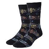 SOCKFUN Music Note Socks Music Socks Men...