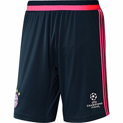 adidas Herren Short FC Bayern UCL Training, Night Navy/Flash Red S15, S
