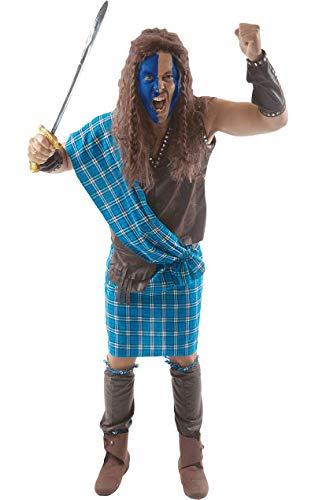 ORION COSTUMES Disfraz de Guerrero Escocs de Pelcula para Hombres