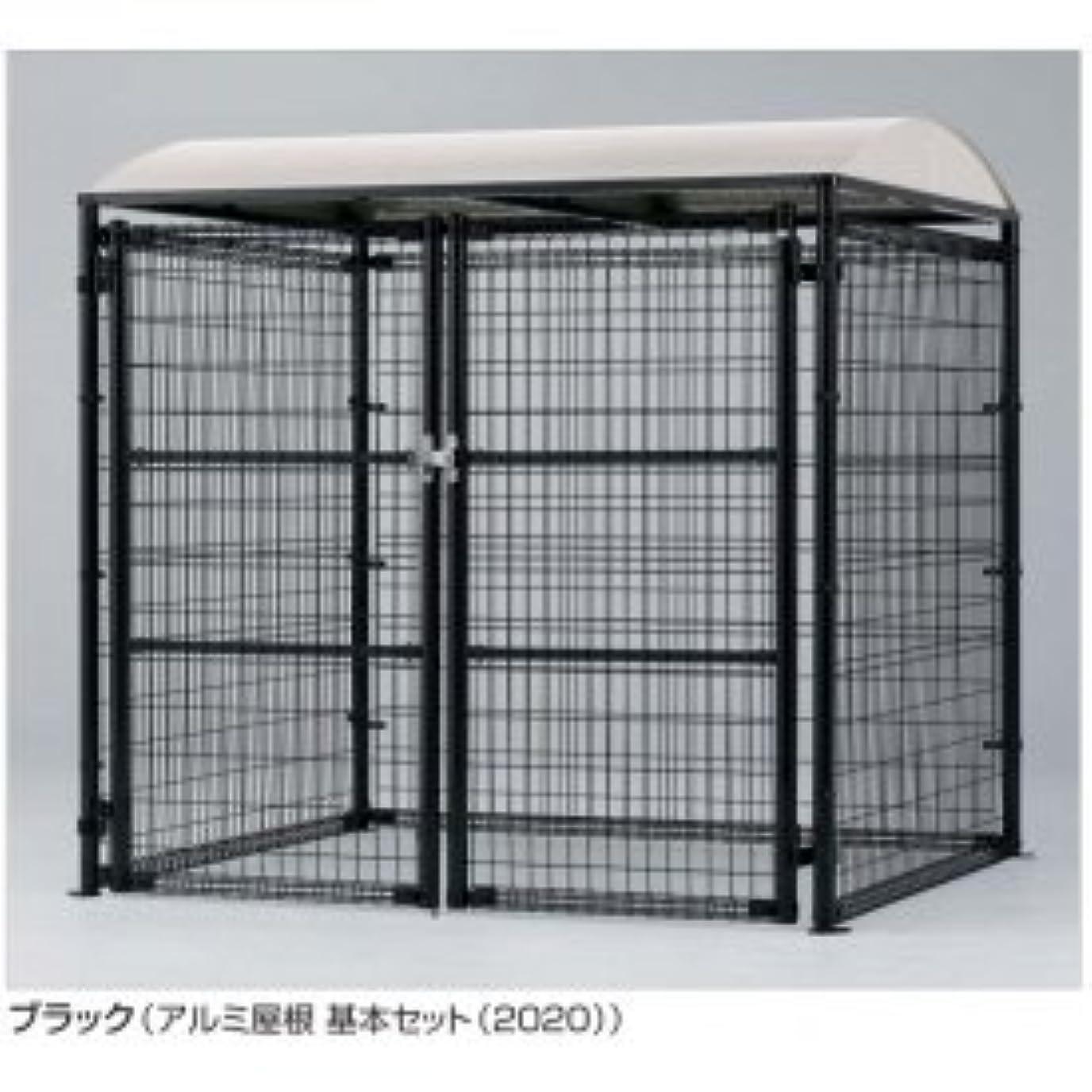 嵐の診断するピケ四国化成 ゴミストッカー LMF10型(アンカー式?メッシュ屋根) GSM10-MA4020BR ブラウン