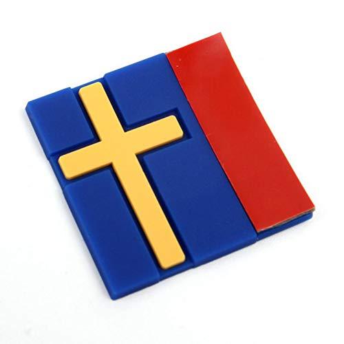 BLOUR Für Volvo Auto Schweden schwedische Flagge Tag Emblem Aufkleber Aufkleber personalisierte dekorative Auto Aufkleber Universal Auto